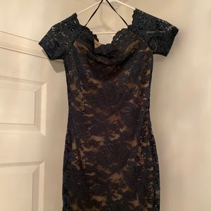 Nasty Gal sexy lace dress with a nice lining.